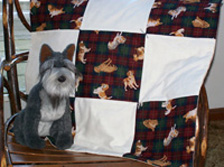 Quilted Dog Blankie